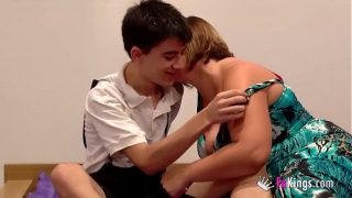 Jordi fucks a girl while her brother is next to him watching!!!